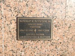 Ronald Richard Boynton, Sr