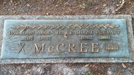 William Allen Jr McCree