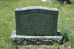 Nancy Jane <I>Tompkins</I> Riddle