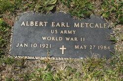 Albert Earl Metcalf