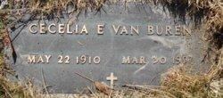 """Cecelia """"Cecil"""" <I>Stepan</I> Van Buren"""
