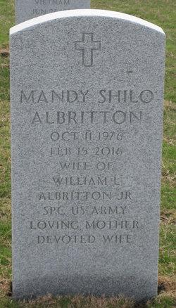 Mandy Shilo <I>Woodard</I> Albritton