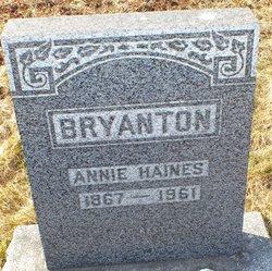 Annie Myrtle <I>Haines</I> Bryanton