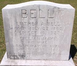 Lillian Alice <I>Mays</I> Bell