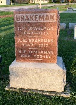 Frank P Brakeman