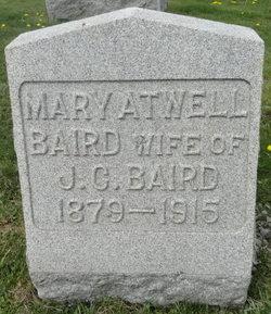 Mary L. <I>Atwell</I> Baird