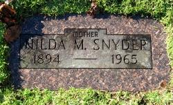 Hilda Maria <I>Johnson</I> Snyder
