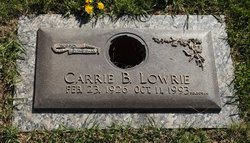 Carrie B. Lowrie