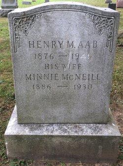 Minnie <I>McNeill</I> Aab