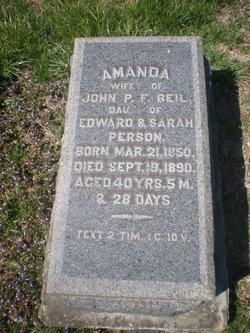 Amanda <I>Person</I> Beil