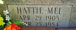 Hattie Mel <I>Graham</I> Wallace
