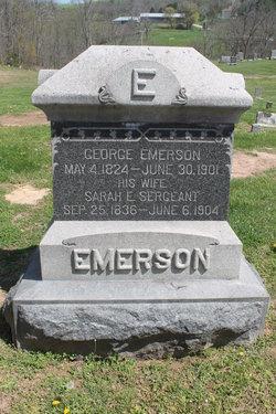 Sarah <I>Sargeant</I> Emerson