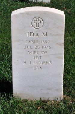 Ida M <I>Lehmann</I> DeMers