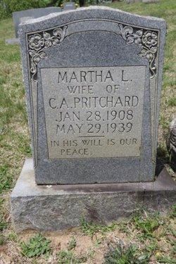 Ann Martha Luna <I>Walker</I> Pritchard