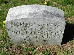 Florence <I>Simmons</I> Chamberlin