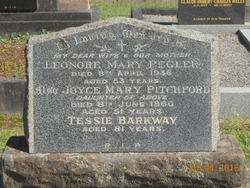 "Theresa M ""Tessie"" <I>Nagle</I> Barkway"
