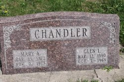 Mary Agnes <I>Simmons</I> Chandler
