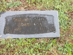Pauline <I>Smith</I> Crawford