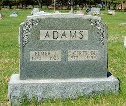 Sarah Gertrude <I>Hill</I> Adams
