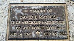 David E. Maynes