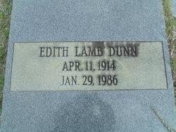 Edith <I>Lamb</I> Dunn