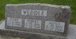 Agnes <I>Simpson</I> Weddle