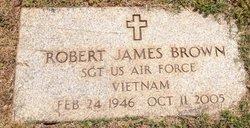 Sgt Robert James Brown