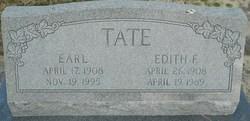 Edith F <I>Cannon</I> Tate