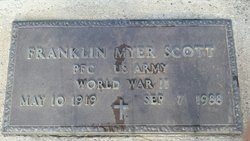 PFC Franklin Myer Scott