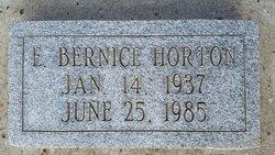 E. Bernice Horton