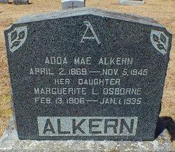 Marguerite Lillian <I>Alkern</I> Osborne