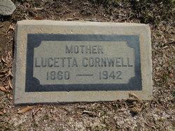Lucetta <I>Thayer</I> Cornwell