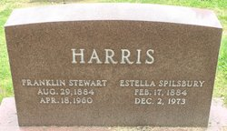 "Frankie Estelle ""Estella"" <I>Spilsbury</I> Harris"