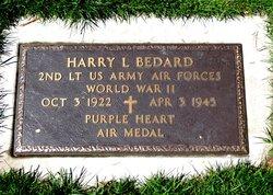 2LT Harry Lester Bedard