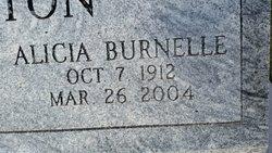 Alicia <I>Burnelle</I> Horton