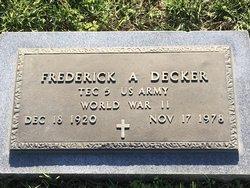 Frederick Aloysius Decker