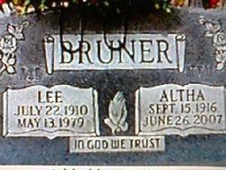 Altha Belle <I>Houshour</I> Bruner