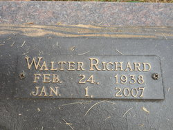 """Walter Richard """"Britches"""" Bruner"""