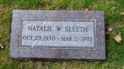 Natalie W. Sleeth