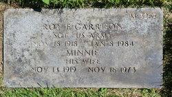 SGT Roy Floyd Garrison