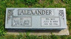 Ida May <I>Lewis</I> Alexander