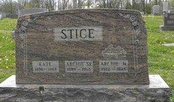Archie Stice, Jr