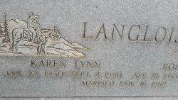 """Karen Lynn """"L.P."""" Langlois"""
