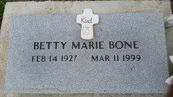 Betty Marie <I>Grett</I> Bone