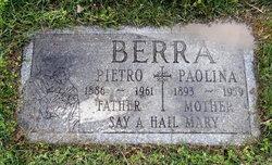 """Pietro """"Peter"""" Berra"""