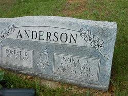 Nona J <I>Lunsford</I> Anderson