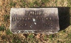 "Harry Garfield ""Buck"" Claypoole"