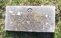 PFC Frederick V Moran