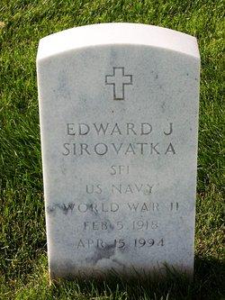 Edward J Sirovatka
