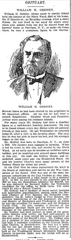 William Henry Gedney
